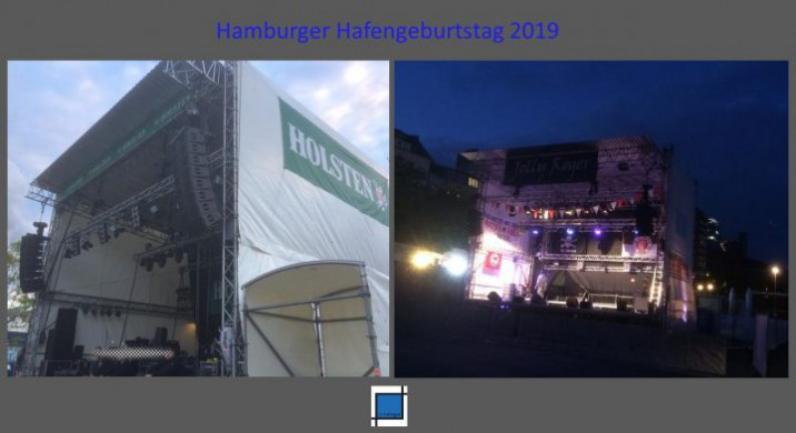 """<span class=""""caps"""">NEWS</span> / 10.05.2019 / Hafengeburtstag 2019, Vier Bühnen von artstage"""
